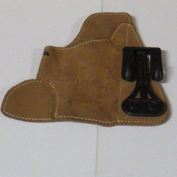 Blackhawk CQC Suede Leather IWB Holster - Size 04